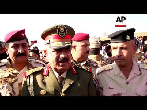 First military parade in Mosul since it was retaken from IS