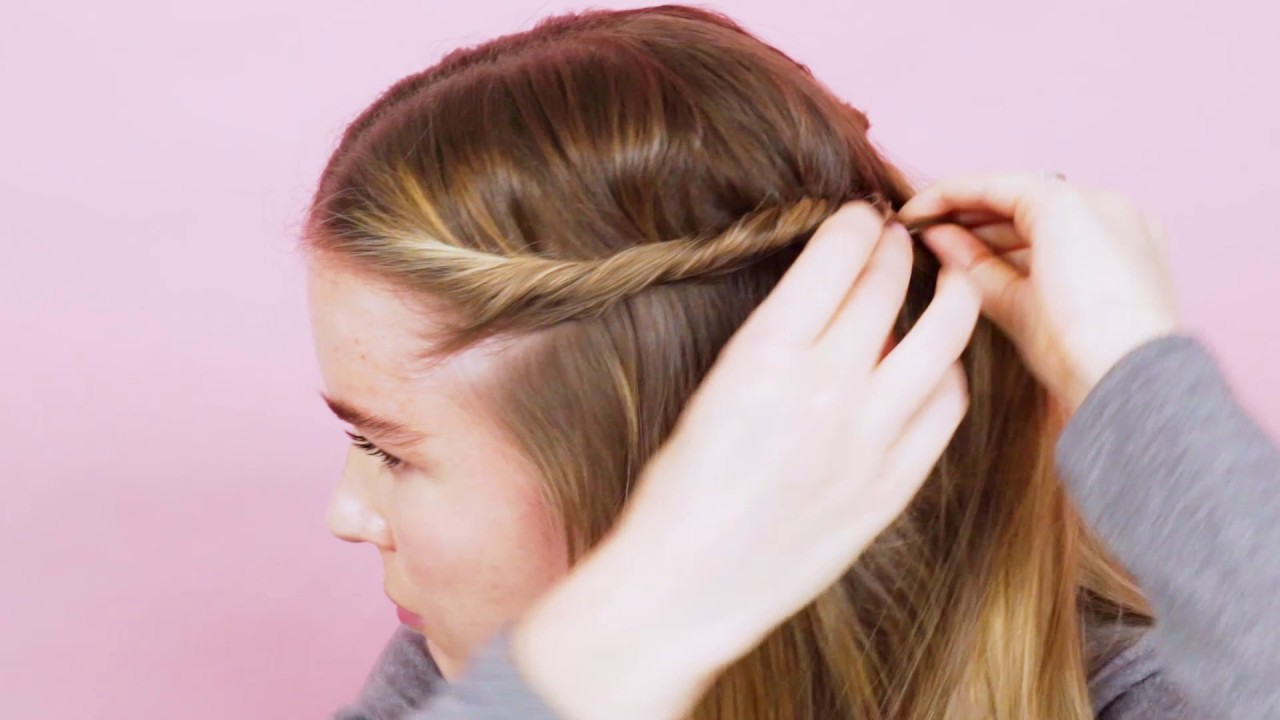 3 ways to wear side twists how to hair real simple youtube 3 ways to wear side twists how to hair real simple ccuart Images