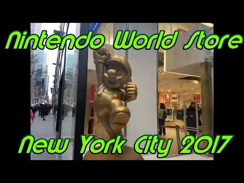 Nintendo World Store NYC Tour 2017