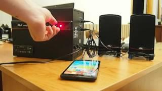 Тест акустической системы 4U E-245