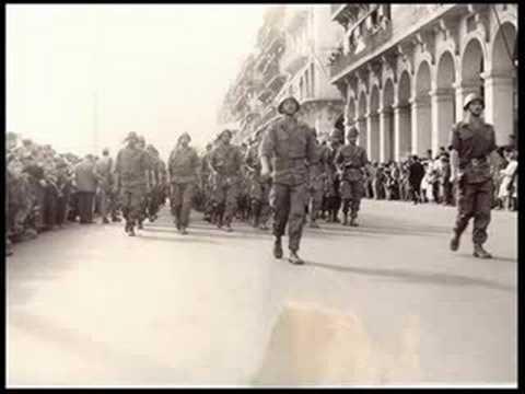 Défilé du 1er novembre 1962