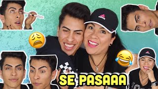 Mi Mami Does My MAKEUP!!? | Louie's Life