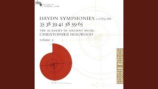 Haydn: Symphony in C, H.I No.38 - 4. Finale. Allegro di molto
