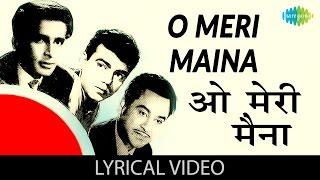 O Meri Maina with lyrics|ओ मेरी मैना गाने के बोल |Pyar Kiye Jaa| Kishore Kumar/Kalpana/Shashi Kapoor