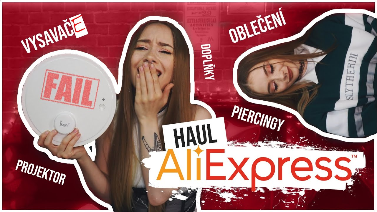 Mám vysavač z Ali! || ALIEXPRESS HAUL!