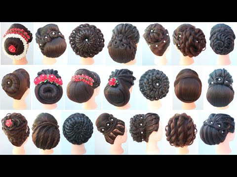 21-different-hairstyle-for-festival-||-juda-hairstyle-||-beautiful-hairstyle-||-hairstyle-for-girls