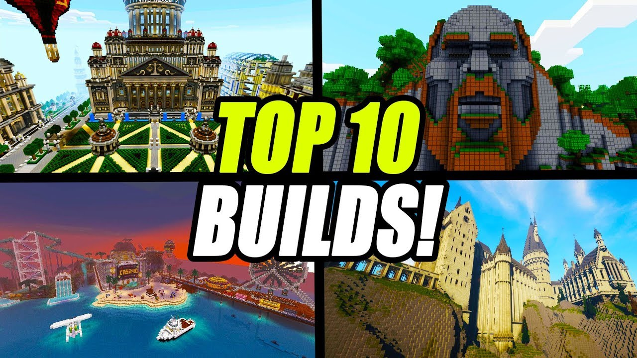 Top 10 Minecraft Builds of All Time (Maps & Creations)