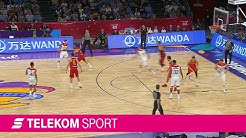 Deutschland - Spanien | Viertelfinale EuroBasket 2017 | Telekom Sport