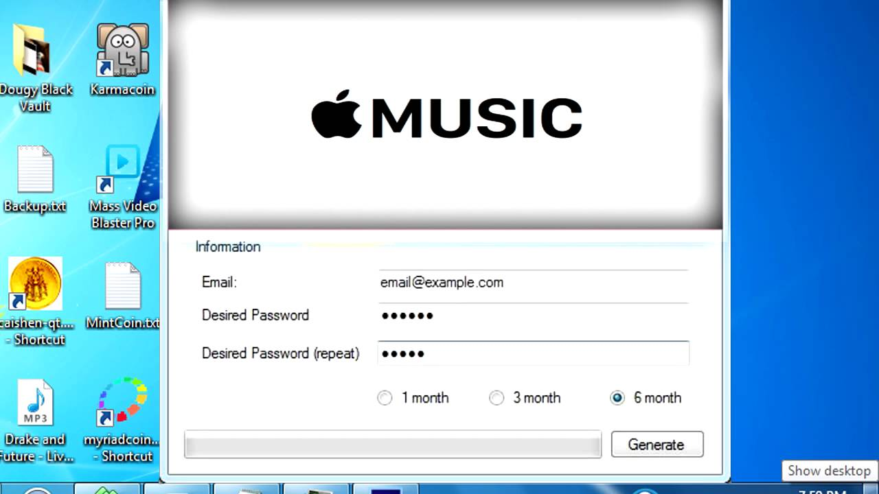 Free Apple Music Subscription | Apple Subscription Generator [Reupload]
