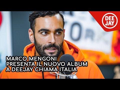 "Marco Mengoni presenta il nuovo album ""Atlantico"" a Radio Deejay"