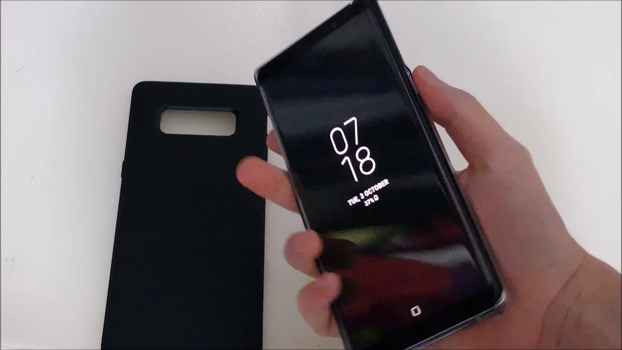 best website 88053 26b25 Spigen Liquid Air Case for Galaxy Note 8 (Unboxing)