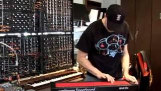 Jordan Rudess' Haken Continuum!
