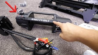 Smittybilt X20 Waterproof Synthetic Winch Install - 2018 Toyota Tacoma