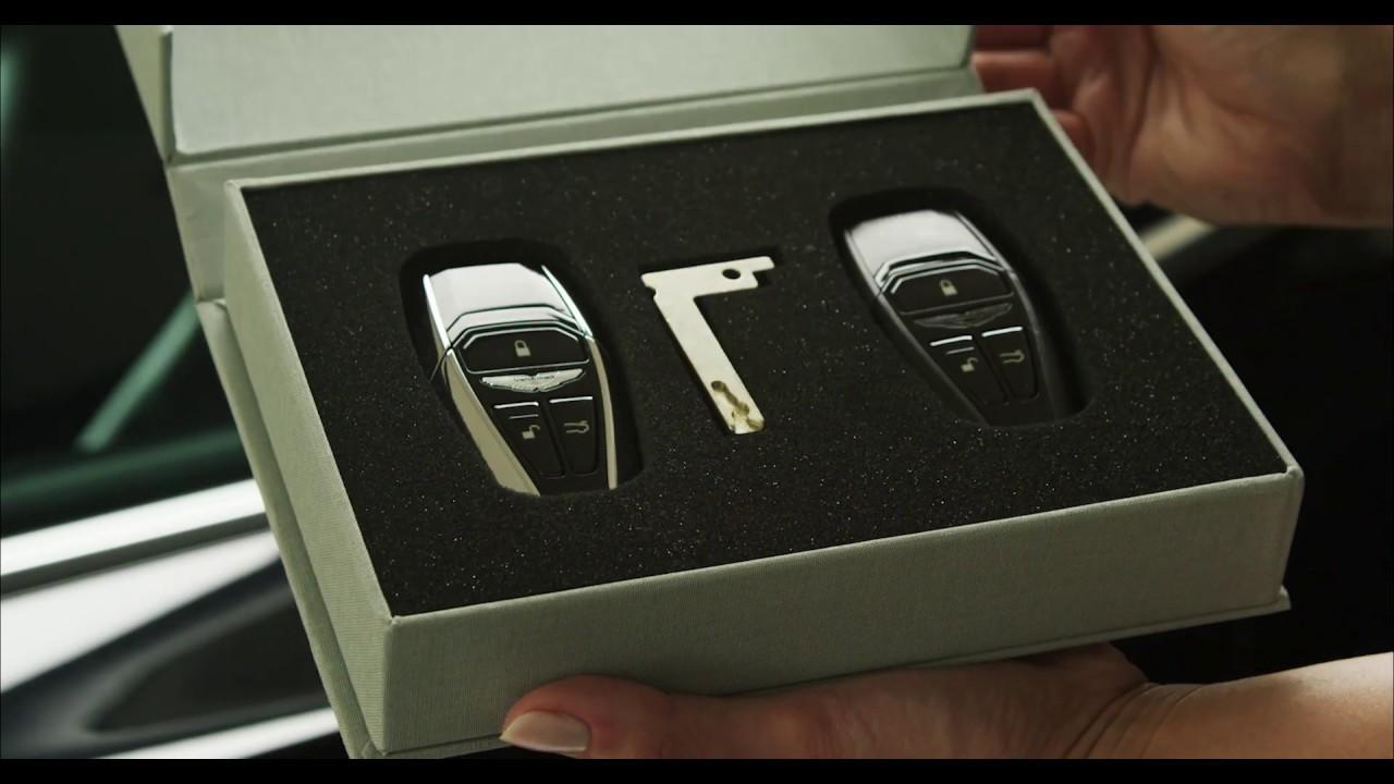 Aston Martin Keys Demonstration Youtube