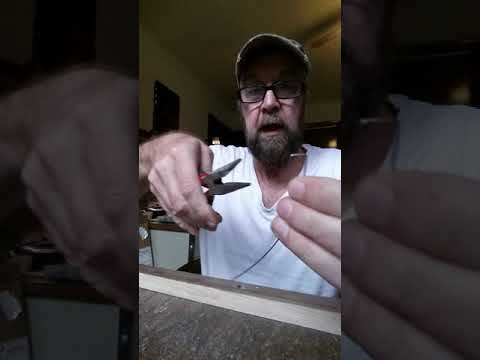 Making and installing staple frets