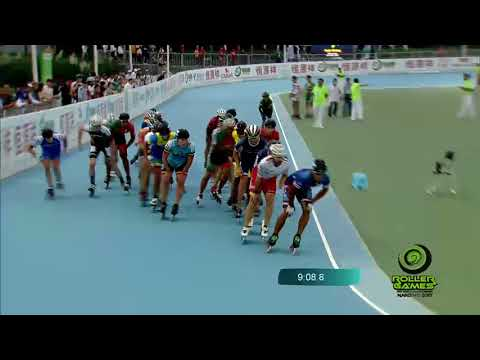 World Roller Games 2017 - Speed Skating - SENIOR Men 15.000M ELIMINATION