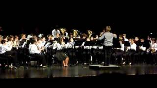A Call For Peace by Brad Ciechomski performed by Cedar Valley Middle School Honors Band, Directed by Janie Botkin, Assistant Director Sheng Thao.