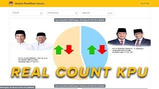 live streaming data terbaru real count kpu selasa 23 april 2019