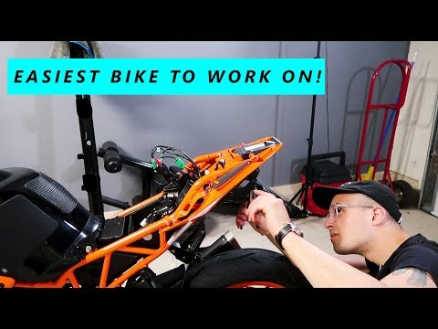 What I DON'T Like about the KTM RC390! First Mods to the Bike