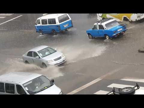 Today (23/09/2019) Amazing Rainy Day in Addis Ababa, Ethiopia