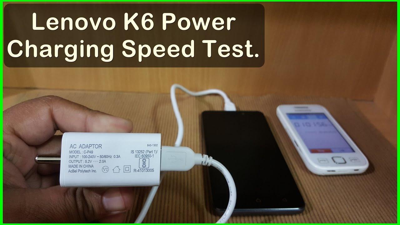 Lenovo K6 Power Charging Videos - Waoweo