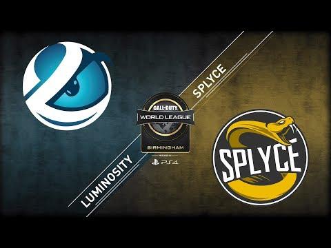 Luminosity vs Splyce | CWL Birmingham Open | Championship Sunday