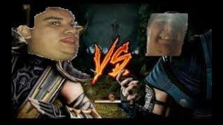 El dios AFK vs El guerrero troll LOL