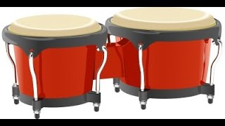 bongo drums sound effect beating banging drum sounds