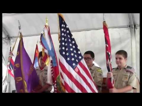 Hawaii Elks Flag Day Ceremony 2014 onboard the USS Missouri (BB-63)