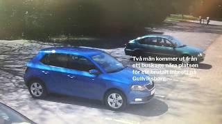 Två män gripna efter inbrott