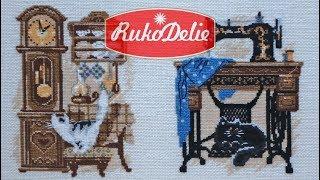 6 котов Риолиса и швейная машина. Обзор наборов вышивки.