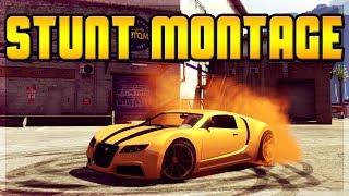 Amazing GTA 5 Stunt Montage (Jumps & Stunts)