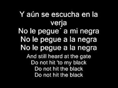Joe Arroyo - La Rebelion (Englis Lyrics/spanish translation)