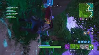 Fortnite sideways jeu canon glitch