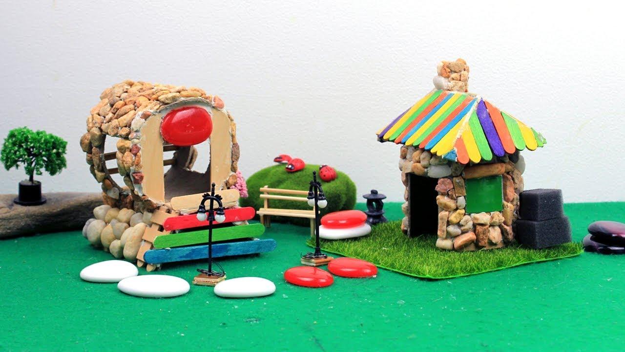 DIY Stone Fairy House & Garden #25   Craft ideas