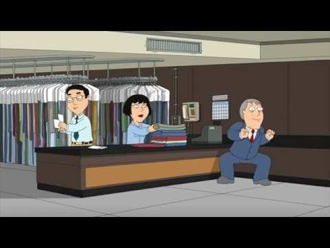 Family Guy - Mayor West Jamming In A DryCleaning
