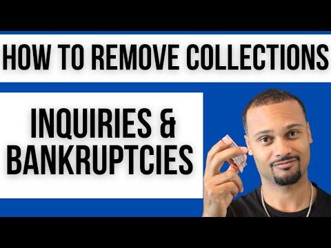 DIY Credit Repair - Remove Collections, Inquiries, Bankruptcies
