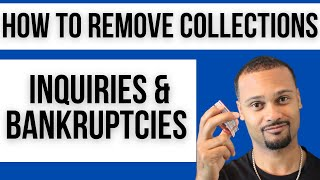 Do It Yourself Credit Repair - Remove Collections, Hard Inquiries, Bankruptcies, etc Yourself!