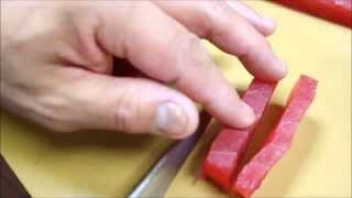 How To Slice Fish For Sushi and Sashimi