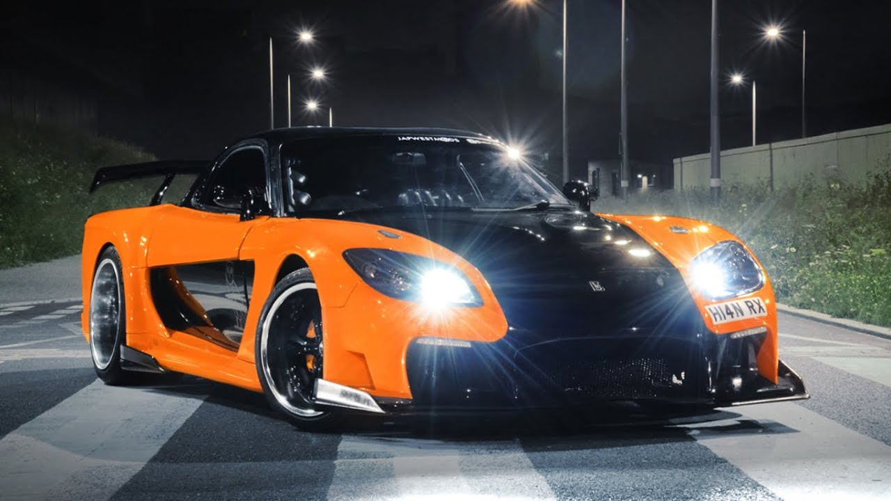 Car Phone Wallpaper Rx7 Mazda Rx7 Veilside Gopro Exhaust Sounds Youtube