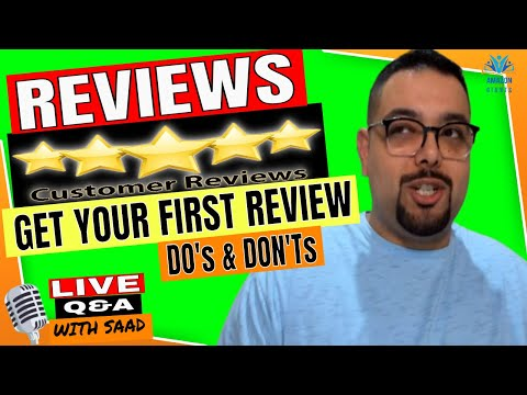 Amazon FBA Review Do's & Don'ts 😎 Make Your Product Reviews Count!🎙️ LIVE Q&A with Saad Basim