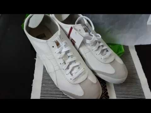 Asics Onitsuka Tiger Mexico 66 Unboxing White Cream
