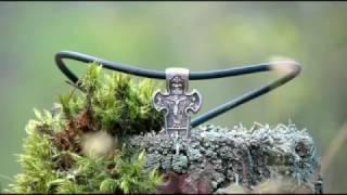 Литье серебра. Крест