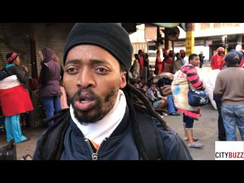 Residents of Fattis Mansions will spend a cold night on Johannesburg's streets.