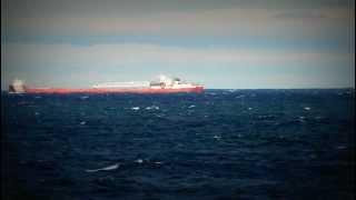 Arthur Andersen Great Lakes Freighter
