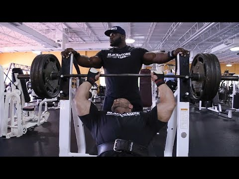 Akim Williams and Aaron Clark Smash Chest
