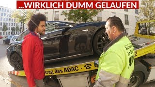 Tesla Model S Kaputte Reifen Und Defekter Autopilot