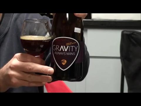 Barrel Aged Gravity Always Wins -- Ocelot Brewing Company