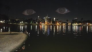 Parque MacArthur a medianoche