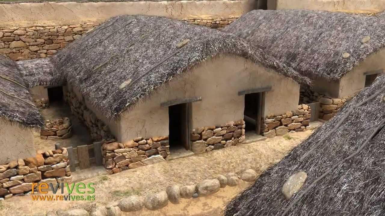 Numancia virtual casa celtib rica youtube for Piani casa africani gratis